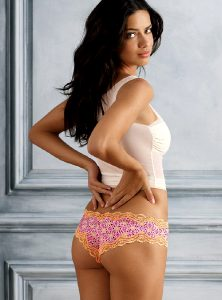 Adri, Lace, Color, Print, And Cheeky Love