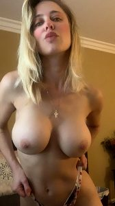 Be A Good Boy And Touch Your Cock For Me Baby