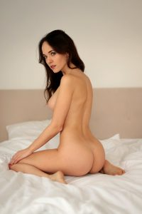 Bianka On The Bed