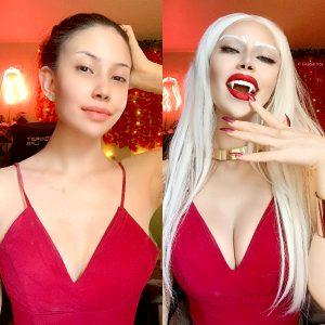Carmilla From Castlevania Closet Cosplay Transformation By Felicia Vox