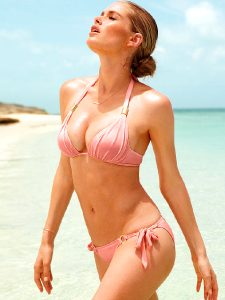 Doutzen, Bombshell, Bikini, And Feeling The Sun Love