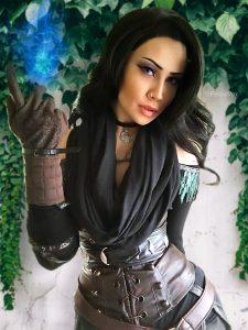 Felicia Vox As Yennefer