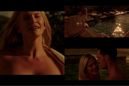 Natasha Henstridge From Her Unreleased Film House Red. Geez, They Should Put This Film Out For Display Asap, So That We Can Enjoy Some Really Wild Stuff Like This, In It.