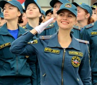 Russian Army Babe