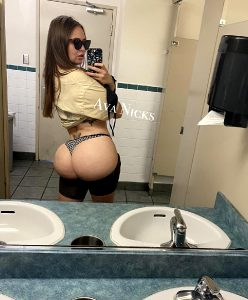 Who Would Tear My 44 Inch Ass Up Right Here In This Fast Food Bathroom While Anyone Could Walk In And See? I Personally Love Getting Caught And Having Someone Watch