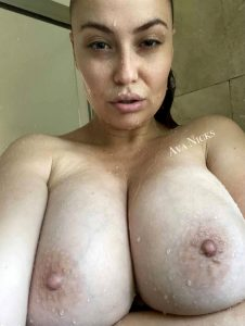 Would You Care To Come Over And Let Me Polish That Cock For You In The Shower So You Can Finish On My 34 G Tits?
