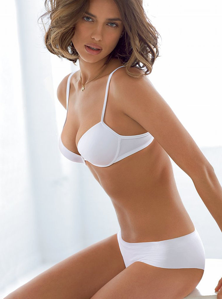 Irina, White, And Base Layer Love