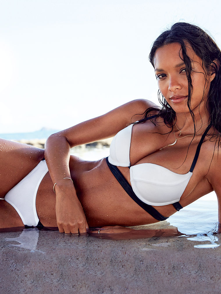 Lais, White, Black, Bikini, And Real Natural Beauty Love